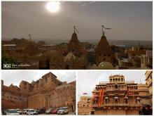 "Jaisalmer Fort- one of the very few (perhaps the only) ""living forts"" in the world"
