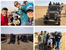 Kudosians experienced enthralling Jeep Safari