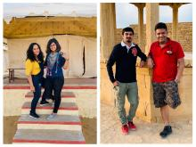 The faces behind the success of Jaisalmer Trip